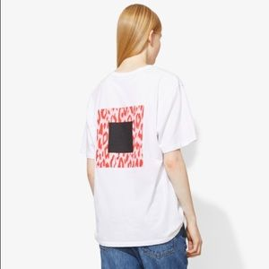 NWT Proenza Schouler Printed Graphic T-Shirt